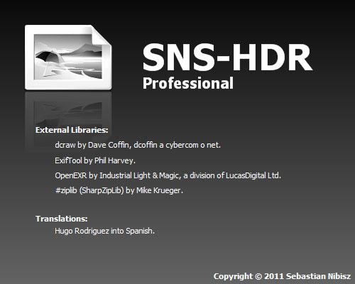 SNS-HDR Lite & Pro (Español)