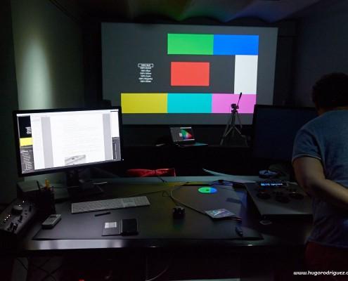 Calibrando el proyector JVC 02
