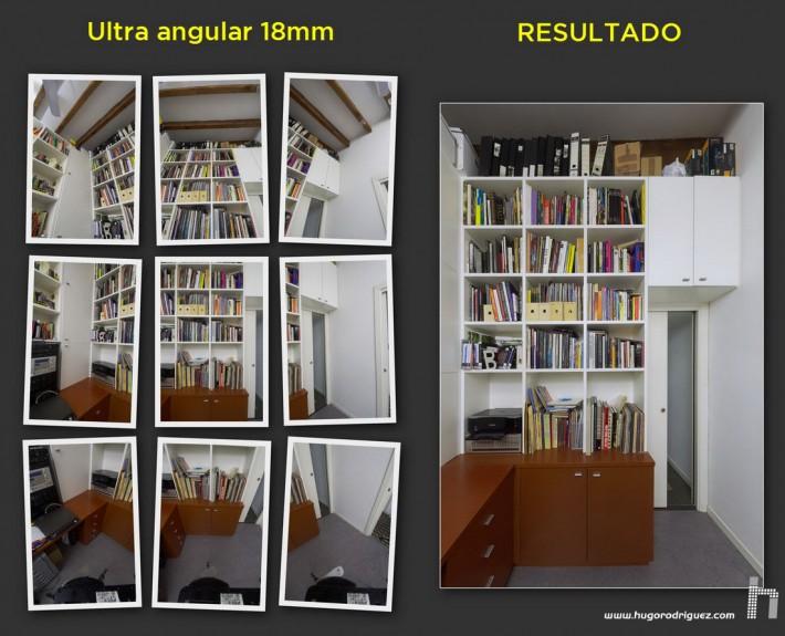 Pano libreria Nikkor 12mm p