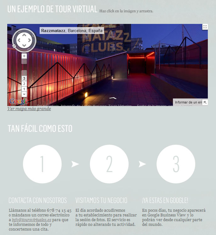 Tours virtuales - Web de Leticia Manzano