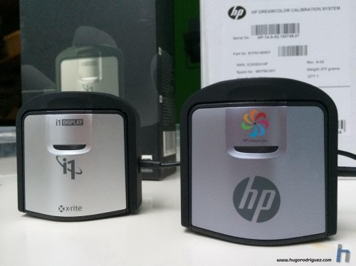 Calibrador HP Dreamcolor y i1 display Pro