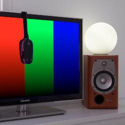 Calibración de TV/proyector