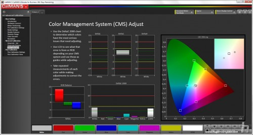CalMan CMS Result - Panasonic TX-65AX900