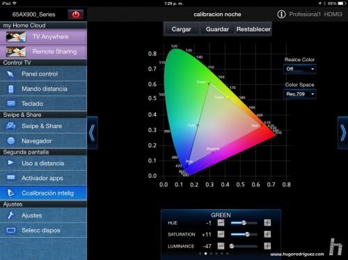 Panasonic App calibracion Hugo