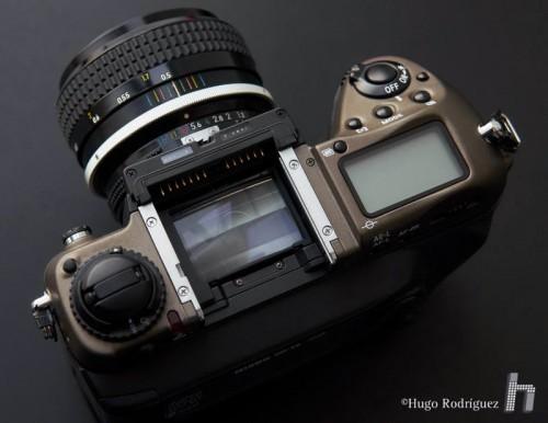 Nikon F5 Special Edition 13 sin visor