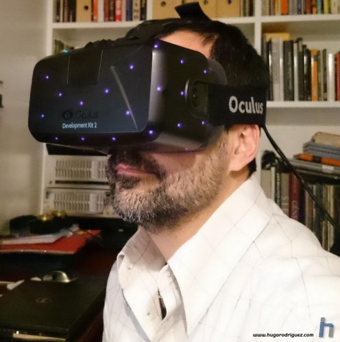 Probando las Oculus Rift DK2