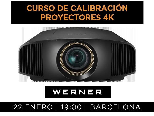 2016-01-22 Curso proyectores 4K - WERNER