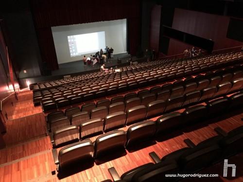 Auditorio vacio