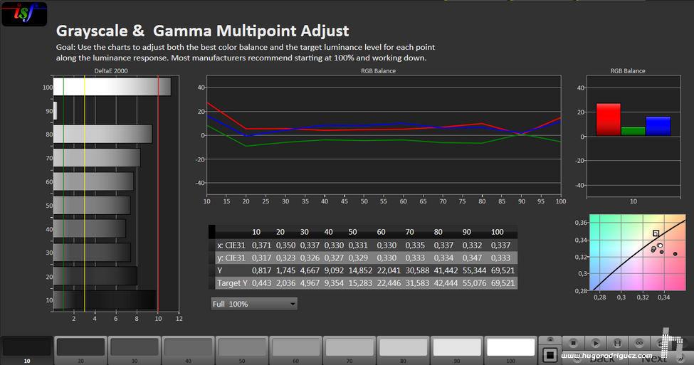 calman-gamma-result-sony-projector-4k-medico-crop