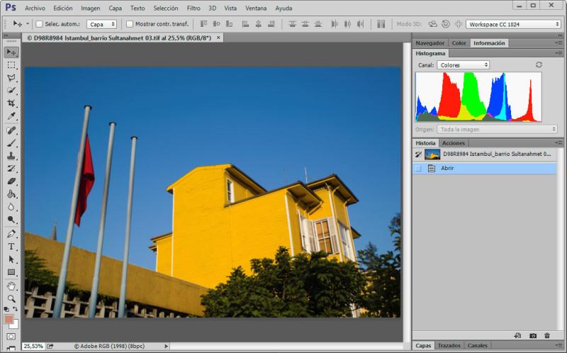 Istambul-Sultanahmet-Histograma-Photoshop-H-RGB-Lightroom