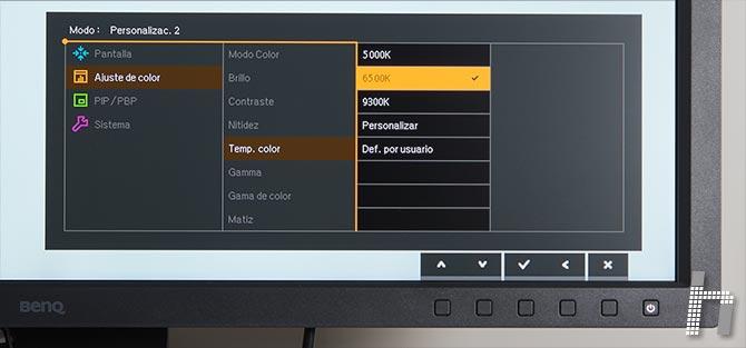 Menus-BenQ-SW320-Color-p-04-Temp-preset
