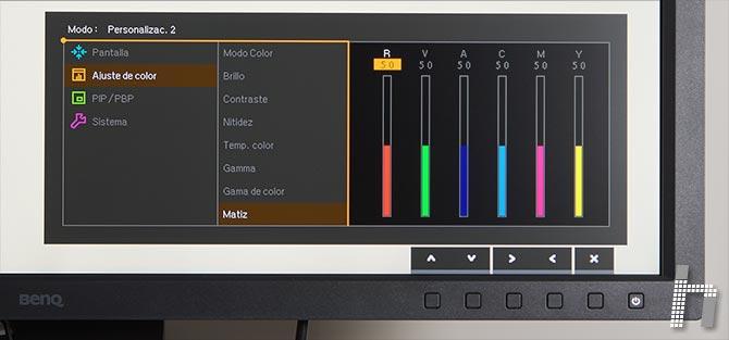 Menus-BenQ-SW320-Color-p-09Matiz