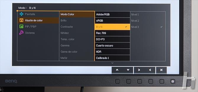 Menus-BenQ-SW320-Modo-color-p-03BN