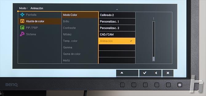 Menus-BenQ-SW320-Modo-color-p-11Animacion