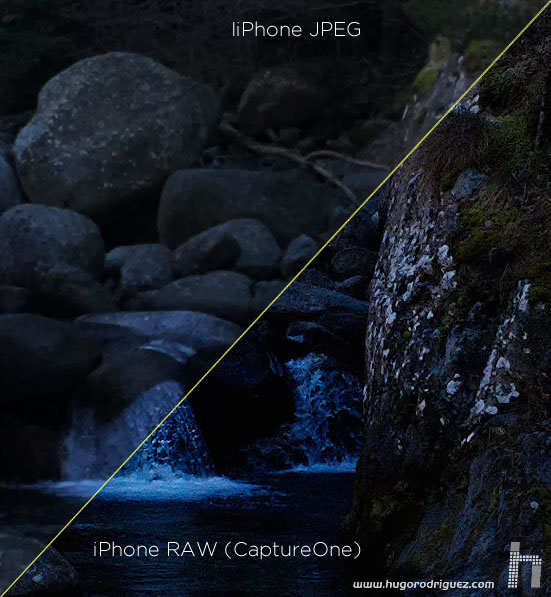 iphone-jpeg vs raw