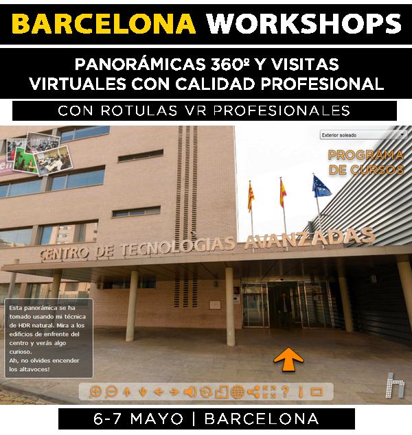 2017-05-06 BCN Workshops Panos y tours