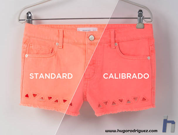 WOMAN SHORT FLUOR7 Std vs Cal