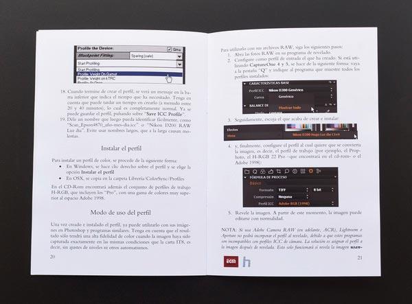 El detallado manual de instrucciones.
