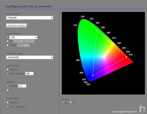 BenQ Palette Elements SW240 - 007