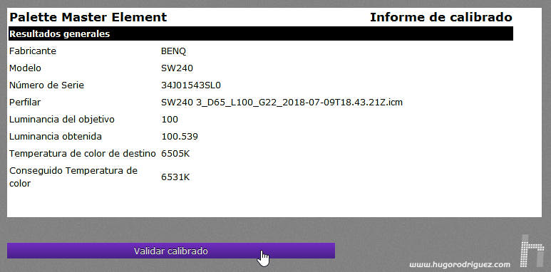 BenQ Palette Elements SW240 - 036