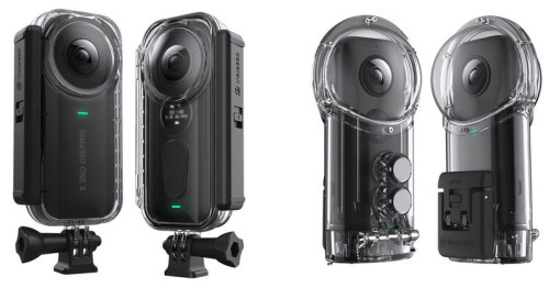 insta360 one x housings