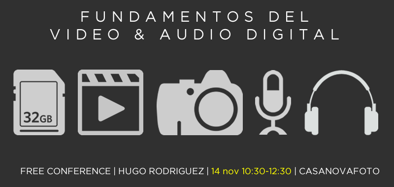 2018-11-14 Conferencia Video-Audio CasanovaFoto