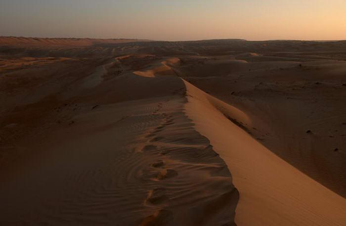 Before-Desierto original vs cielo azul
